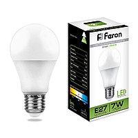 Лампа светодиодная Feron LB-91 (7W) 230V E27 4000K A60