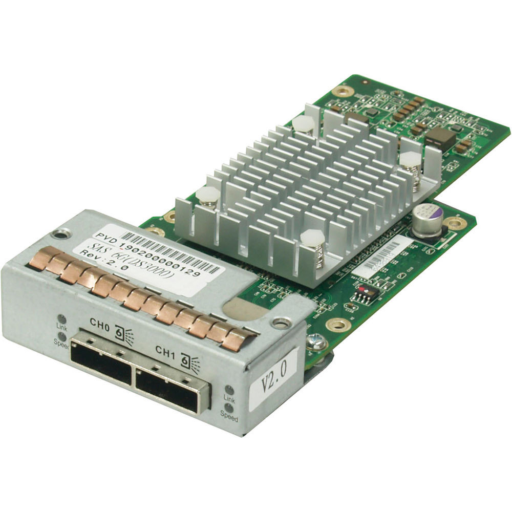 Контроллер EonStor RSS06G0HIO2-0010 / EonStor DS host board with 2 x 6Gb SAS ports