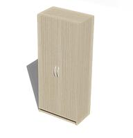 Шкаф для верхней одежды из ЛДСП, фото 1