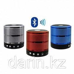 Колонка маленькая портативная WS-887 bluetooth, MP3, FM радио