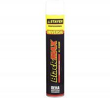 Пена STAYER BlackMAX монтажная, адаптерная, всесезонная, 750мл