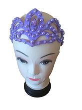 Диадема фиолетового цвета