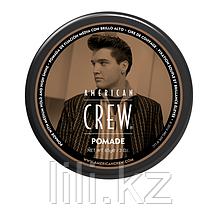 Помада со средней фиксацией и высоким уровнем блеска для укладки волос American Crew King Pomade 85 г.