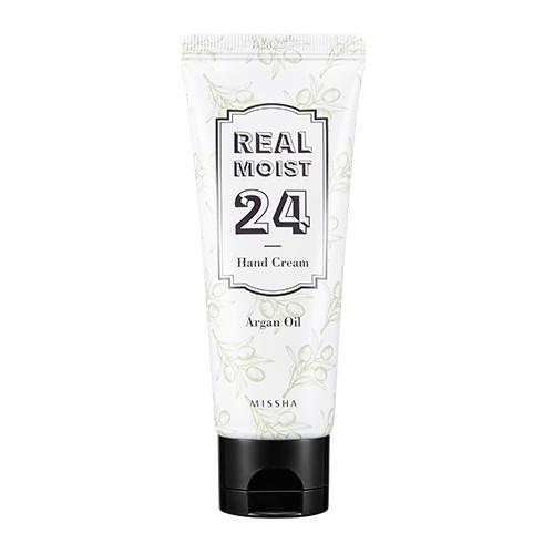 Интенсивный увлажняющий крем для рук Real Moist24 Hand Cream (Argan Oil)