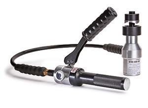 Гидравлическая система с выносным алюминиевым прессом для пробивки отверстий в стальных листах ™КВТ