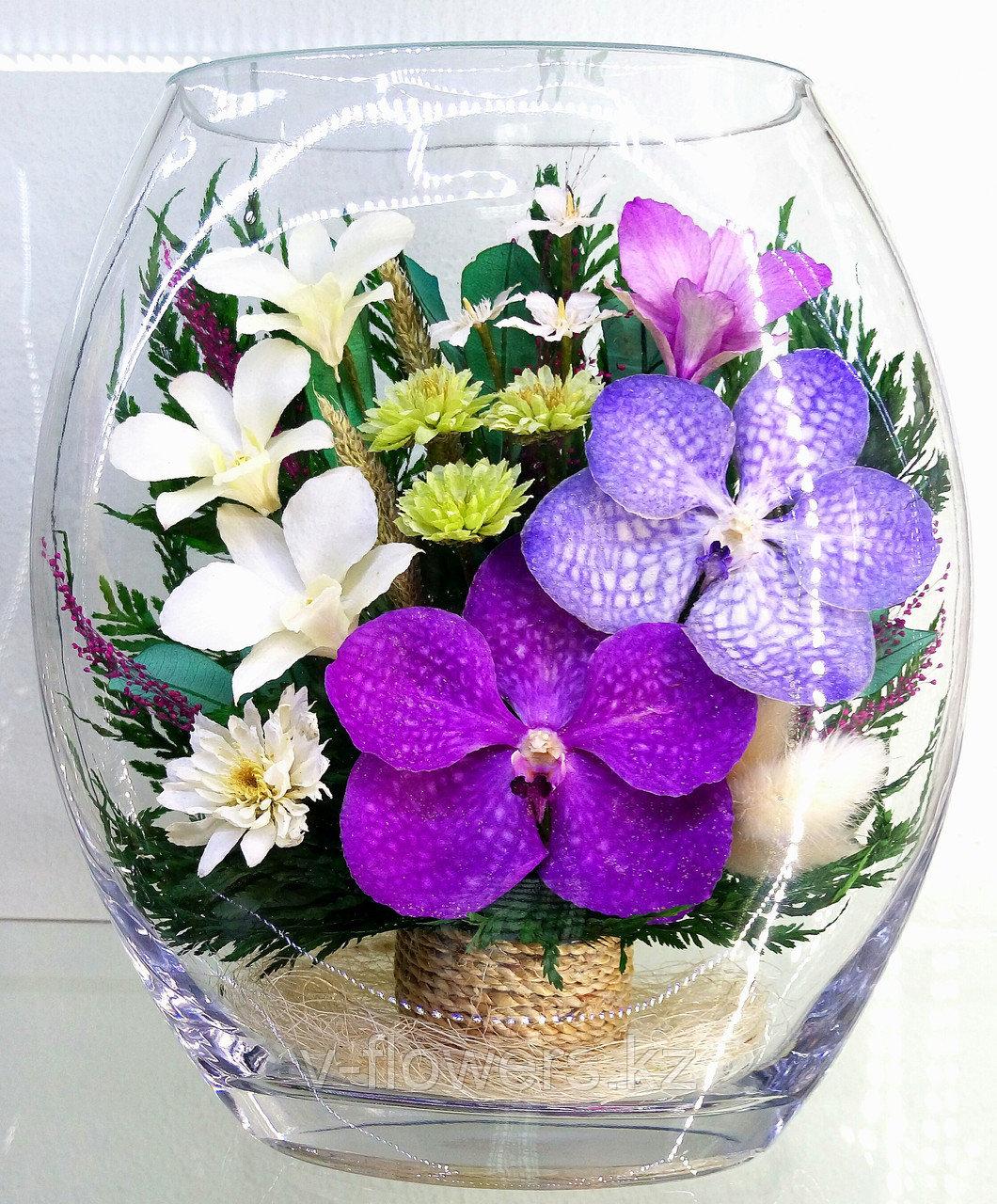 Вечные живые цветы ERO-05
