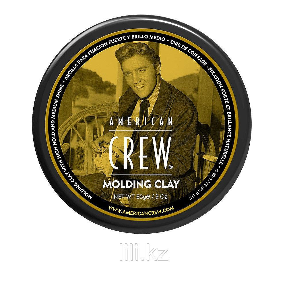 Формирующая глина сильной фиксации со средним уровнем блеска для укладки волос American Crew King Molding Clay