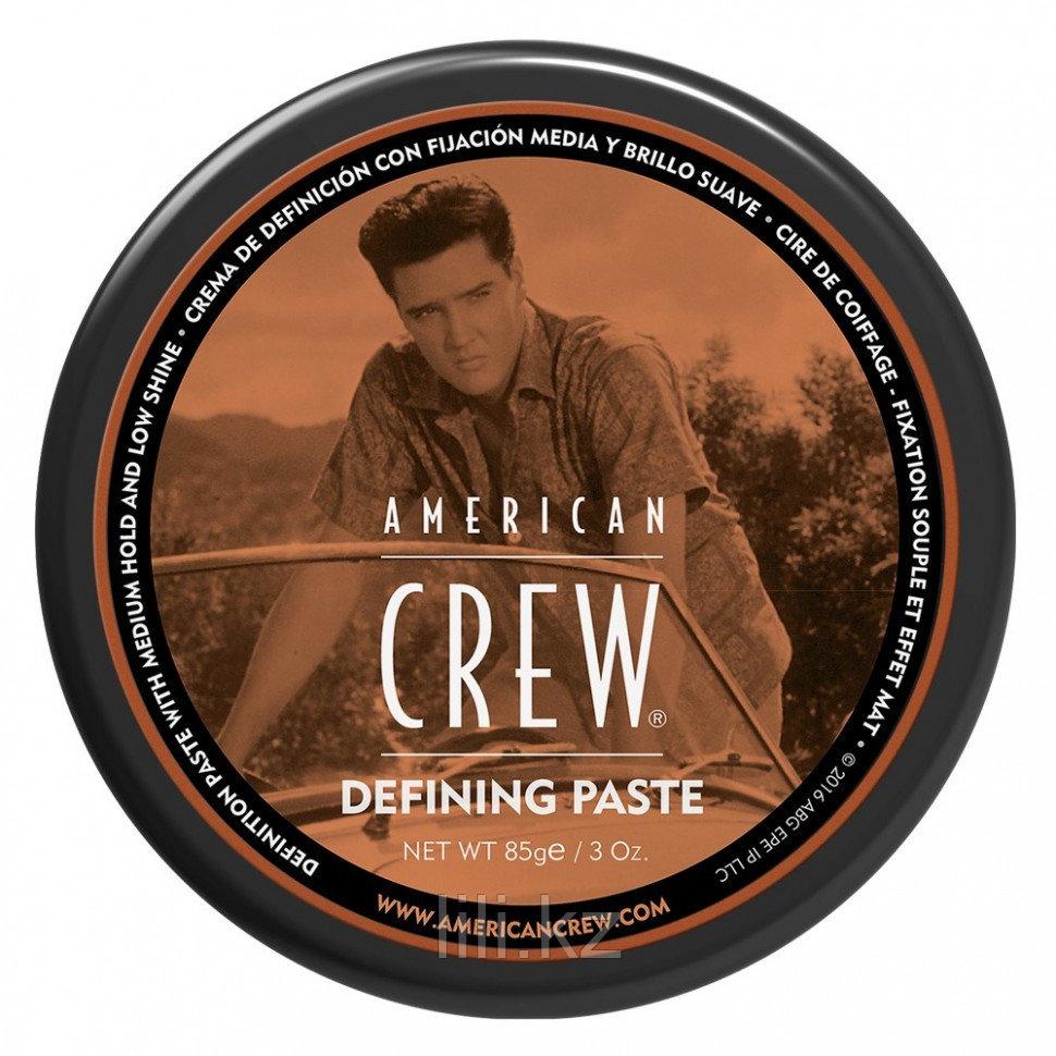 Паста со средней фиксацией и низким уровнем блеска для укладки волос American Crew King Defining Paste 85 г.