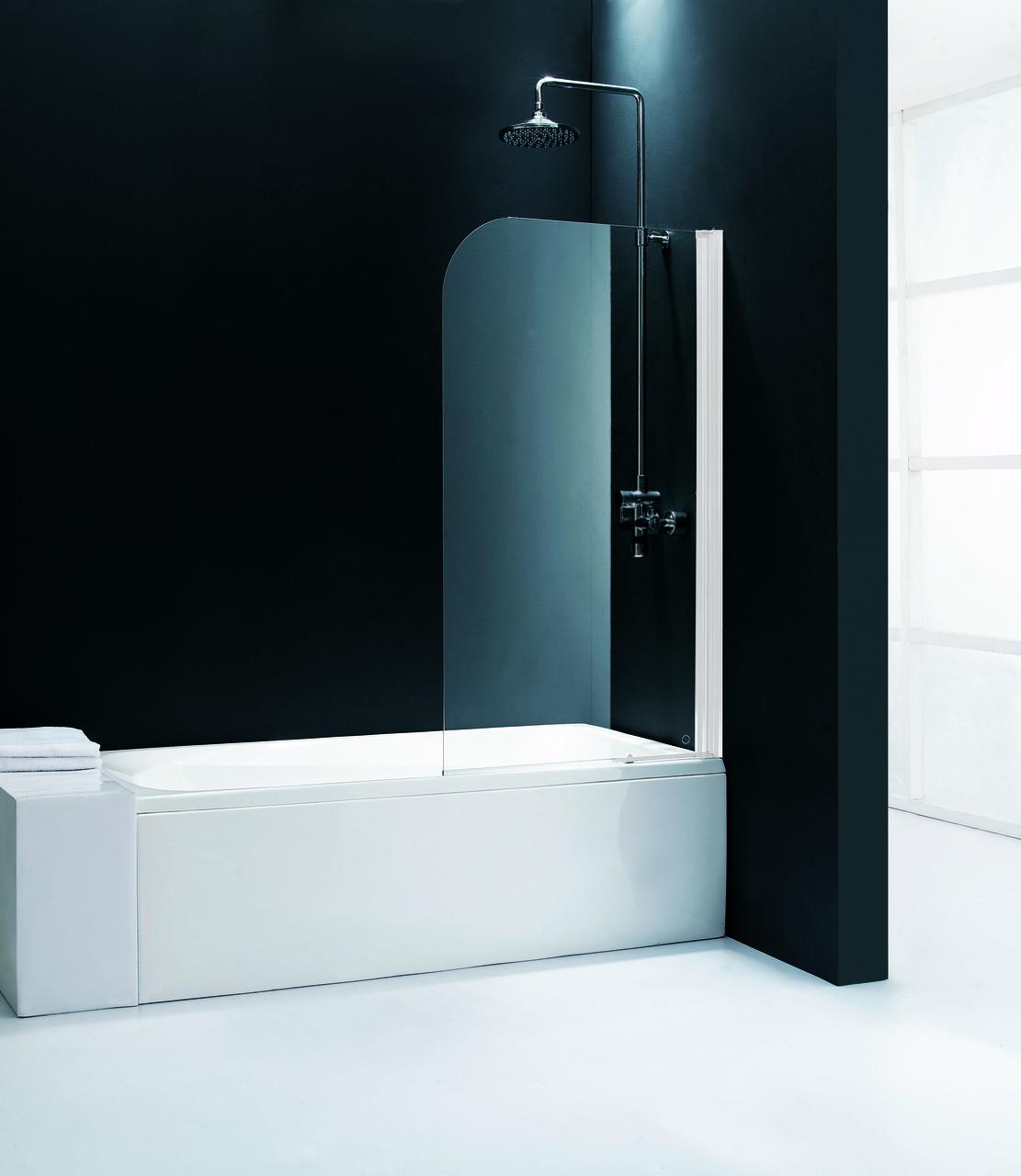 Шторка для ванны стеклянная Ideal Studio M1X