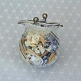 Саше-кошелек. Венецианское стекло. Ручная работа, фото 2