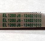 Ремень на с/м 1200 J6