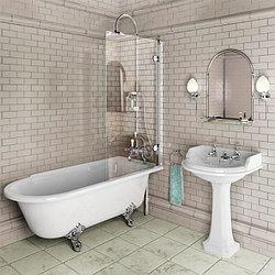 Шторки для ванны стеклянные