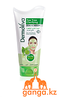 Маска для жирной кожи Чайное дерево (Tea Tree Clarifying DermoViva), 150 мл.
