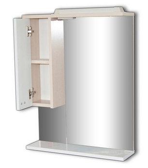 Шкаф-зеркало Блик 55 СВЕТЛЫЙ ДУБ Эл. левый/правый, фото 2