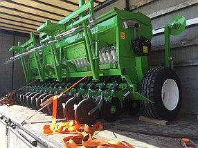 Сеялка зерновая 2-х дисковая с прикатывающими катками Agrolead Lina 2500-5000 (Турция), фото 3