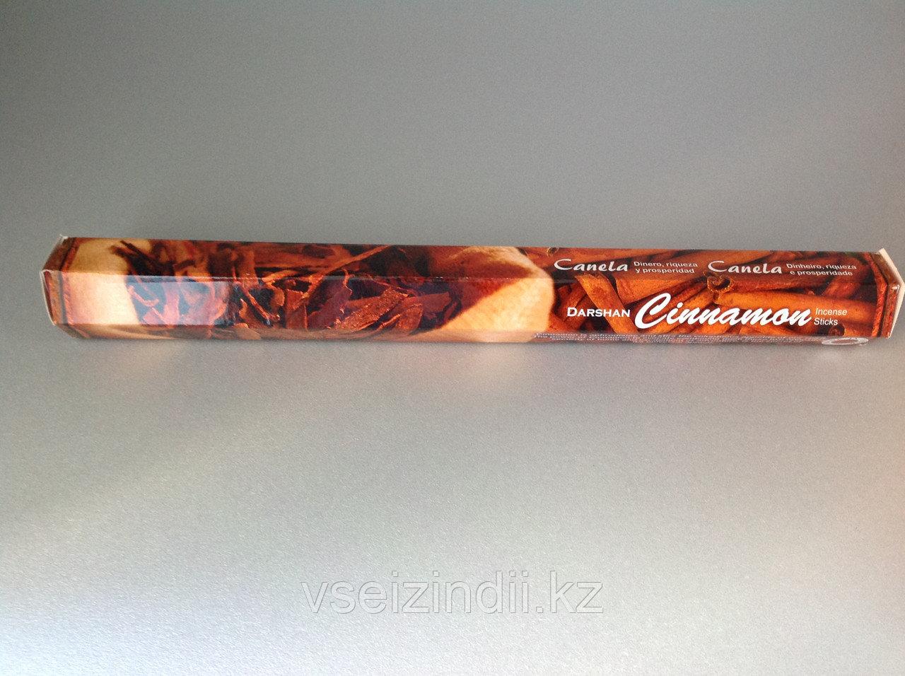 Благовония угольные Cinnamon (Корица), Darshan, 20 шт