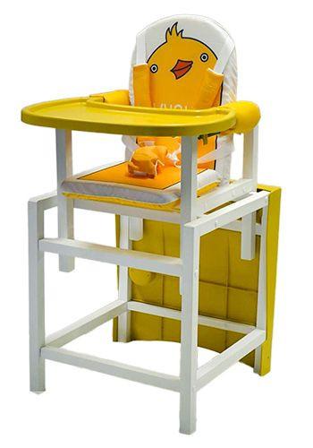 Стульчик  стол для кормления  BABYS DUCKY Желтый