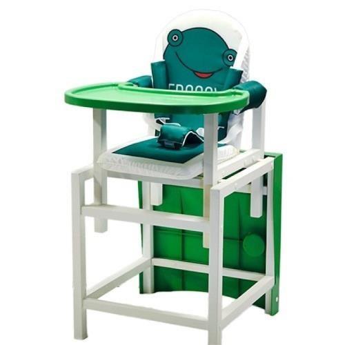 Стульчик  стол для кормления  BABYS FROGGY Зеленый