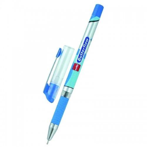 Ручка шариковая Cello Butterflow 0.5 мм, синяя