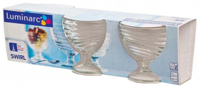 Набор креманок  Luminarc Свирл 300 мл 3 шт H5068