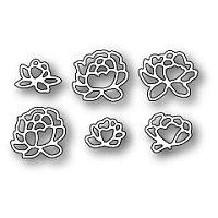 Набор ножей для вырубки Pennington Rose Blossoms