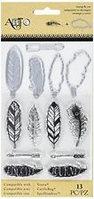 Набор ножей для вырубки и штампов Перья