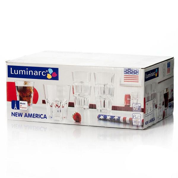 Набор стаканов Luminarc New America 270 мл 6 шт