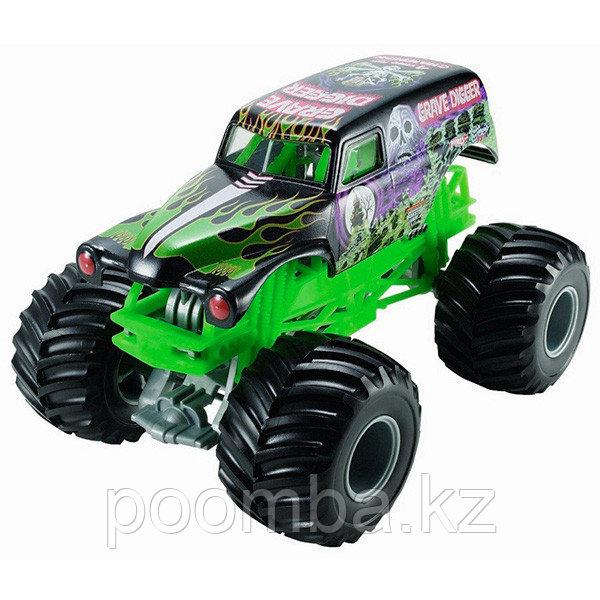 """Hot Wheels""""Monster Jam""""GraveDigger 1:64"""