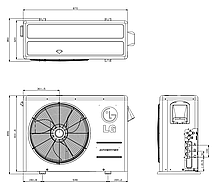 Наружный блок LG Multi F: MU3M19, фото 2