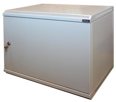 Шкаф настенный МиК 6U, 600*350*360, BASIS, серый, дверь-металл