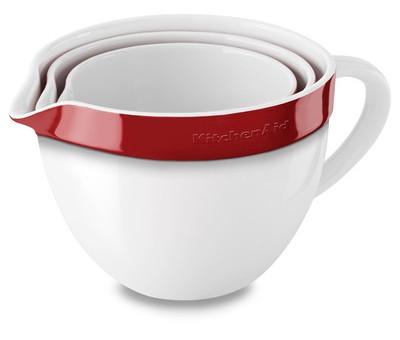 Набор керамических чаш круглых для запекания KitchenAid