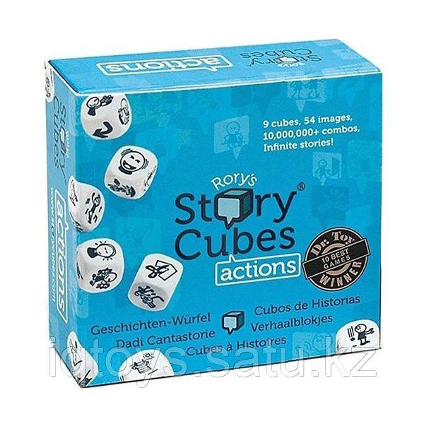 """Настольная игра Rory's Story Cubes """" Кубики Историй"""" Действия"""""""