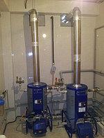 Монтаж Отопления и вентиляции в коттедже