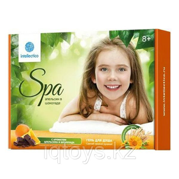 INTELLECTICO 762 Гель для душа Апельсин в шоколаде, малый набор