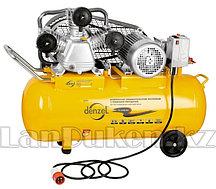 Компрессор PC 3/100-504 маслянный ременный произв. 504 л/м мощность 3 кВт DENZEL 58098 (002)