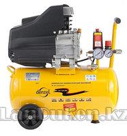 Компрессор пневматический 1,5 кВт 206 л/мин 24 л DENZEL 58061 (002)