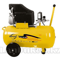 Компрессор пневматический 1,5 кВт 206 л/мин 50 л DENZEL 58066 (002)