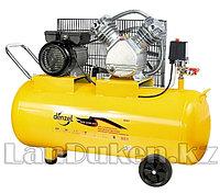 Компрессор пневматический 2,2 кВт 370 л/мин 100 л DENZEL 58091 (002)