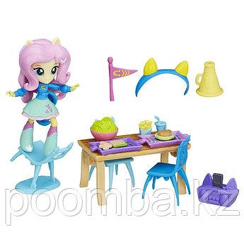 """Игровой набор Equestria Girls Mini """"Пижамная вечеринка"""" - Флатершай"""