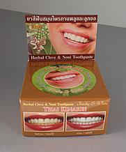 Зубная паста с экстрактом Нони и Гвоздики 5 Star Herbal Clove & Noni Toothpaste, Таиланд