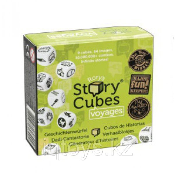 """Настольная игра Rory's Story Cubes """" Кубики Историй"""" Путешествия"""""""