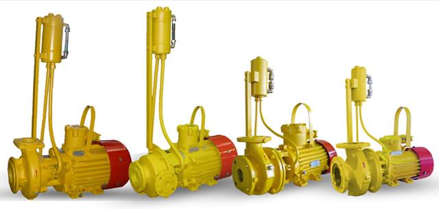 Электронасосы для жидких нефтепродуктов и СУГ