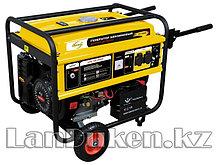 Генератор бензиновый GE 4500Е 4,5 кВт 220В/50Гц, 25 л электростартер DENZEL 94683 (002)