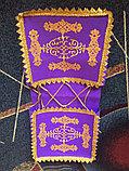 Коржын фиолетовый с национальным орнаментом, фото 3