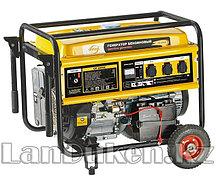 Генератор бензиновый GE 6900E 5,5 кВт 220В/50Гц 25 л электростартер DENZEL 94684 (002)