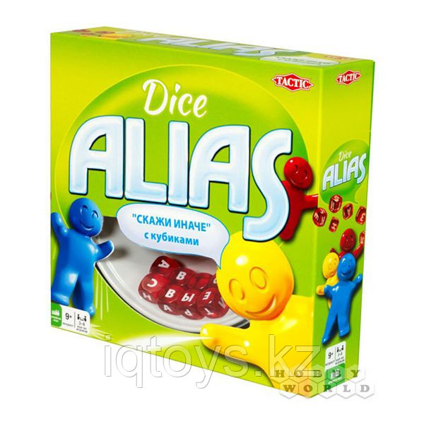 """Настольная игра Tactic """"Скажи иначе с кубиками"""" Dice Alias"""