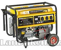 Генератор бензиновый GE 7900E 6,5 кВт 220В/50Гц 25 л электростартер DENZEL 94685 (002)
