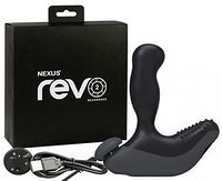 *NEXUS REVO 2 чёрный Вибромассажер простаты с вращающейся головкой, фото 1