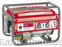 Генератор бензиновый KB 2500 2,4 кВт 220В/50Гц 15 л ручной старт KRONWERK 94691 (002)