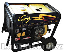 Дизельная сварочная ген. установка DW180Е 4.5 кВт 220В/50Гц 12.5 л электростарт DENZEL 94664 (002)